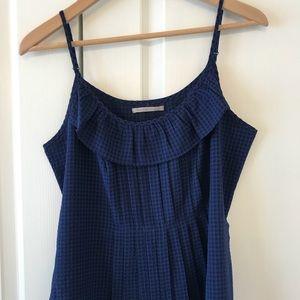 Barely worn Gap blue/black top